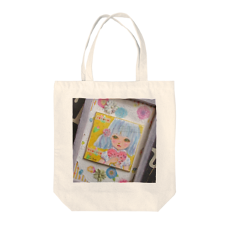Chieの小部屋のドール風ガール Tote bags