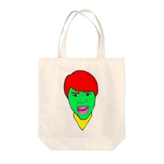 進撃のすず! Tote bags