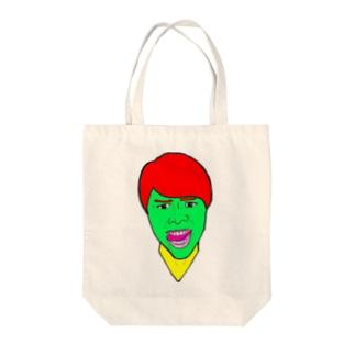 KAOの進撃のすず! Tote bags
