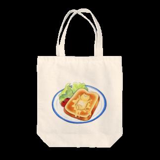 nanosanのトラバタートースト Tote bags