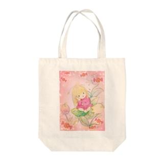 リゲルちゃん Tote bags