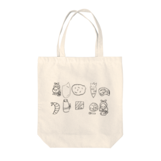 Free rougeのRPK Tote bags