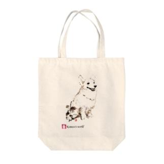 ウェルシュ・コーギー(おさんぽ) Tote bags