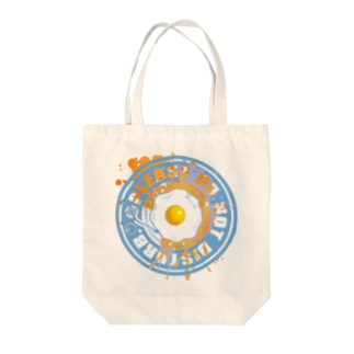 Fried_Egg Tote bags
