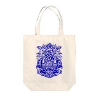 愛知 Tote bags