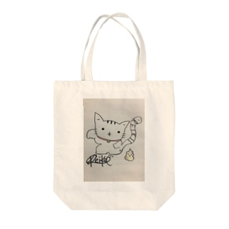 ×Reik0→1×うんこいこい招きにゃん Tote bags