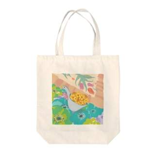 pastel spring Tote bags
