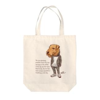 おしゃれエアデール Tote bags