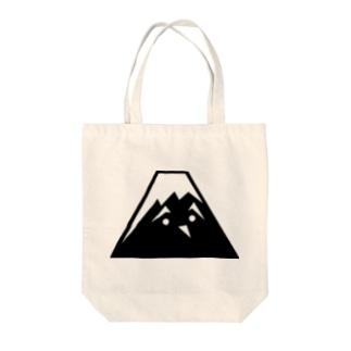 ふじお Tote bags