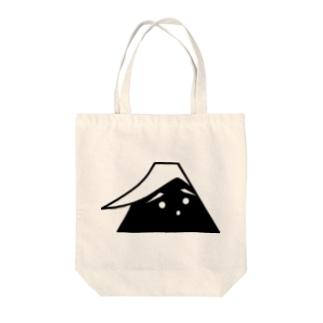 ふじこ Tote bags