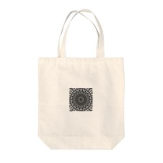 左の幾何学模様 series Tote bags