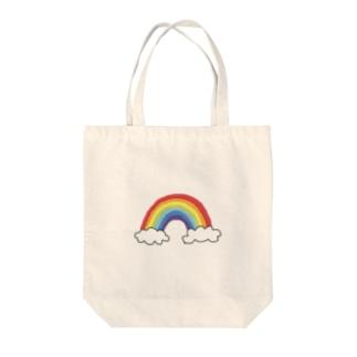 n____kymのれいんぼー Tote bags