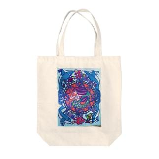 マーメイド Tote bags