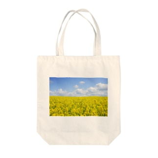 orange_honeyの菜の花4 Tote bags