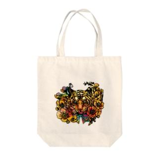 黄金の旋風 Tote bags