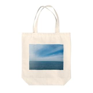 真玉海岸 Tote bags