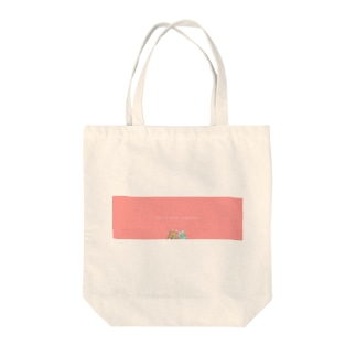 Let's walk together Tote bags