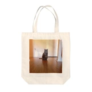 hiyokonohinaのNeko Tote bags