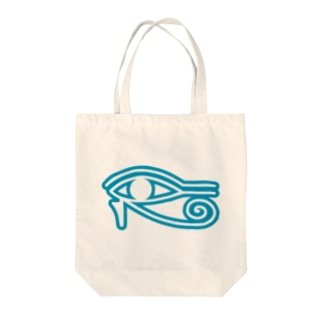 Eye_of_Horus Tote bags