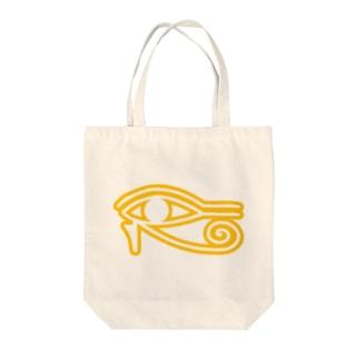 Eye_of_Horus Tote bags