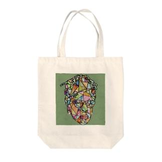 グラフティー Tote bags