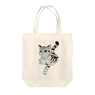 PSYCHの猫様 Tote bags