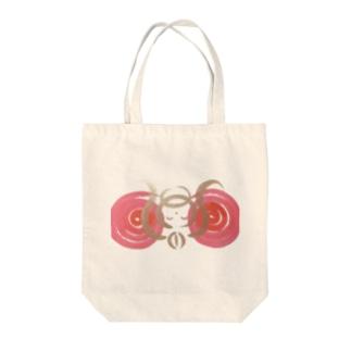 🍀森葉子グッズ🍀のお守り絵「ほっとけさん」透過2 Tote bags