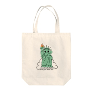 自由のおのくん Tote bags