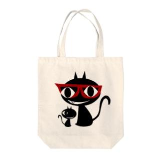 キャッティ(オフィシャル)ネコ好き集まれ!!のこれがキャッティだ!! Tote bags