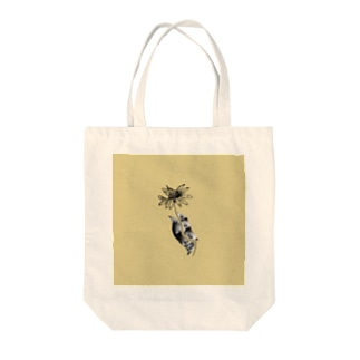 Frances(yellow) Tote bags