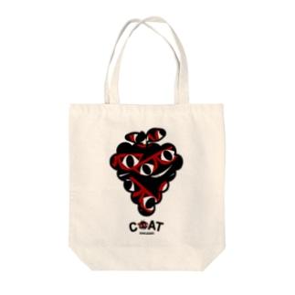キャッティ(オフィシャル)ネコ好き集まれ!!のぶどうになる夢を見た!! Tote bags