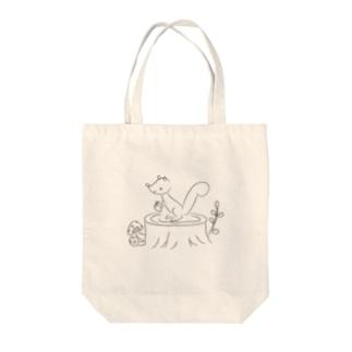 りす Tote Bag