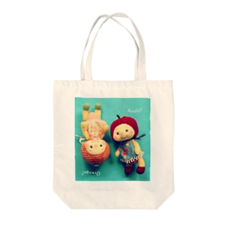 Minamin*-フルリちゃん① Tote bags