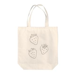 いちご Tote Bag