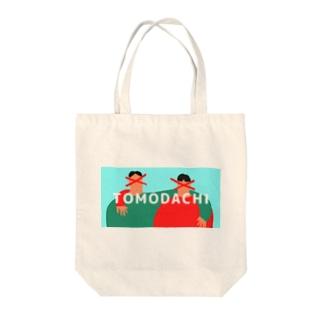 TOMODACHI Tote bags