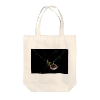 タイの花市場の電線 Tote bags