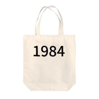 1984 Tote bags