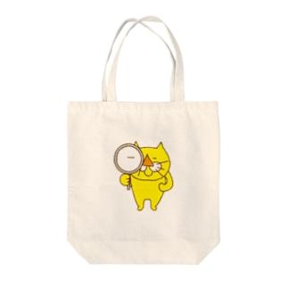黄色い猫 きなこの見える世界 Tote bags