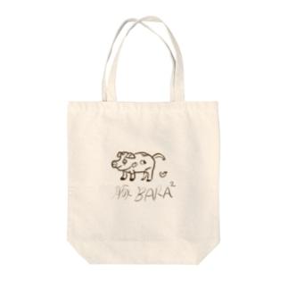 豚BARA BARA Tote bags