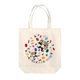 こいのぼりマン@加須市のこいのぼりマン_ボルダリング柄 Tote bags