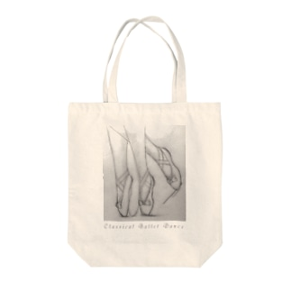 Classical Ballet Dance Tote bags