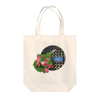 spiral__spiralの笑う自転車 Tote bags