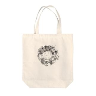 円心上の願い。3.141592… Tote bags