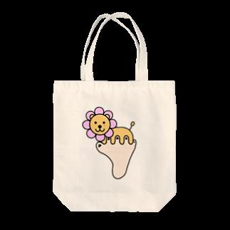 あしゆびふれんずのあしゆびらいおん(ピンク) Tote bags