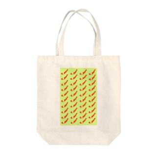 エビフライ Tote bags