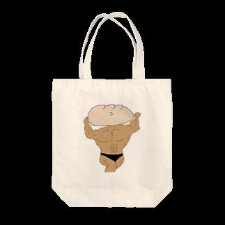 マツノBの冷やかし餃子マッチョマン Tote bags