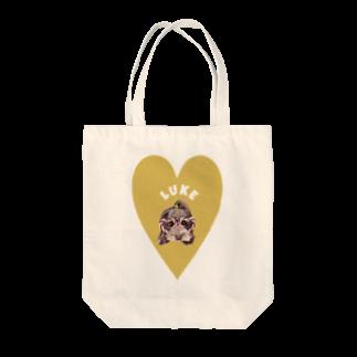よっしぃのLuke Tote bags
