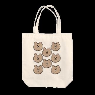 たまご屋さんのくまくまくま Tote bags