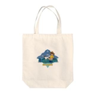 Re:kmui Fish Cruising トート Tote bags