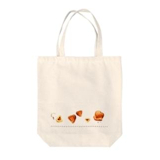 heart chocolat Tote bags
